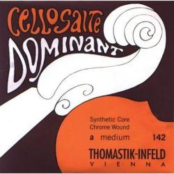 Thomastik Infeld Mediana Cuerdas para violonchelo Dominant Alma en nylon