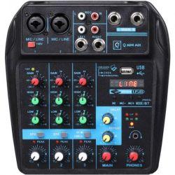 Oqan Mixer Q Mini USB Mixer mesa de mezclas analogica