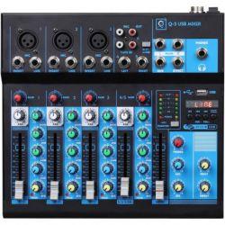 Oqan Mixer Q5 MK2 USB mesa de mezclas analogica