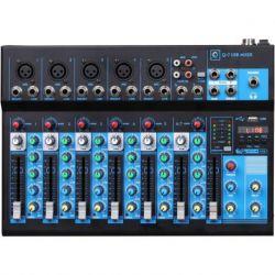 Oqan Mixer Q7 Mk2 USB mesa de mezclas analogica