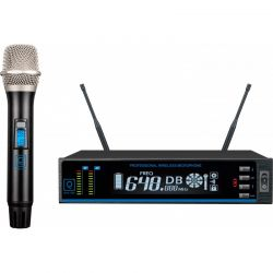 Oqan QWM-1SH sistema inalambrico de microfono de mano