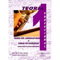 teoria del lenguaje musical y fichas de ejercicios 1. enseñanzas profesionales