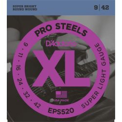 daddario eps520 prosteel super light [09-42]