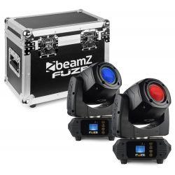 Beamz Fuze75S Spot 2pcs in FC 75WLED Mov.
