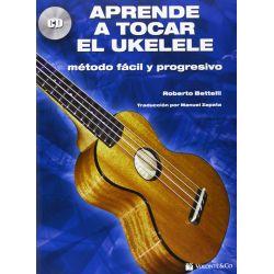 Compra Metodo para Ukelele bettelli Roberto con CD al mejor precio