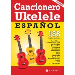 Compra Cancionero para Ukelele Español (188 Letras con Acordes) al mejor precio