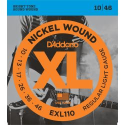 daddario exl110 - xl regular light [10-46]