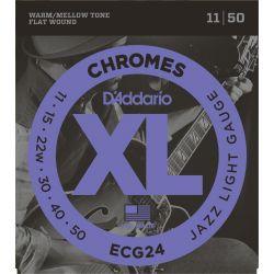 daddario ecg24 - chromes jazz light [11-50]