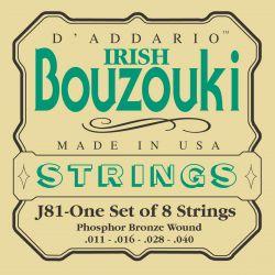daddario j81 irish bouzouki strings