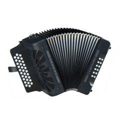 Hohner COMPADRE ADG negro acordeon