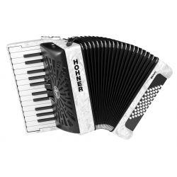 Hohner BRAVO II 48 BLANCO 20 acordeon