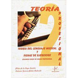 teoria del lenguaje musical y fichas de ejercicios 2. enseñanzas profesionales