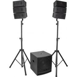 Ibiza Sound CUBE 15A ARRAY sistema PA 2.1