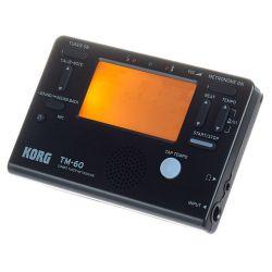 Korg TM-60C-BK Afinador y Metronomo