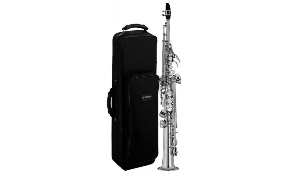 Compra Yamaha yss 475 s ii saxo soprano plateado al mejor precio