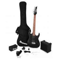 Oferta pack de guitarra electrica Ibanez IJRX20-BKN Black Night