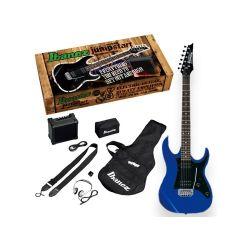 Oferta pack de guitarra electrica Ibanez IJRX20-BL Blue