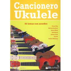 Cancionero ukelele Internacional Volonte Co MB307 (83 letras con acordes)