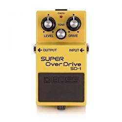 Boss SD-1 pedal super overdrive