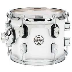 DW PDP Pearlescent white Toms Concept Maple