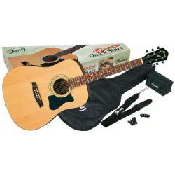 Comprar Ibanez V50NJP-NT JAM pack Natural kit al mejor precio
