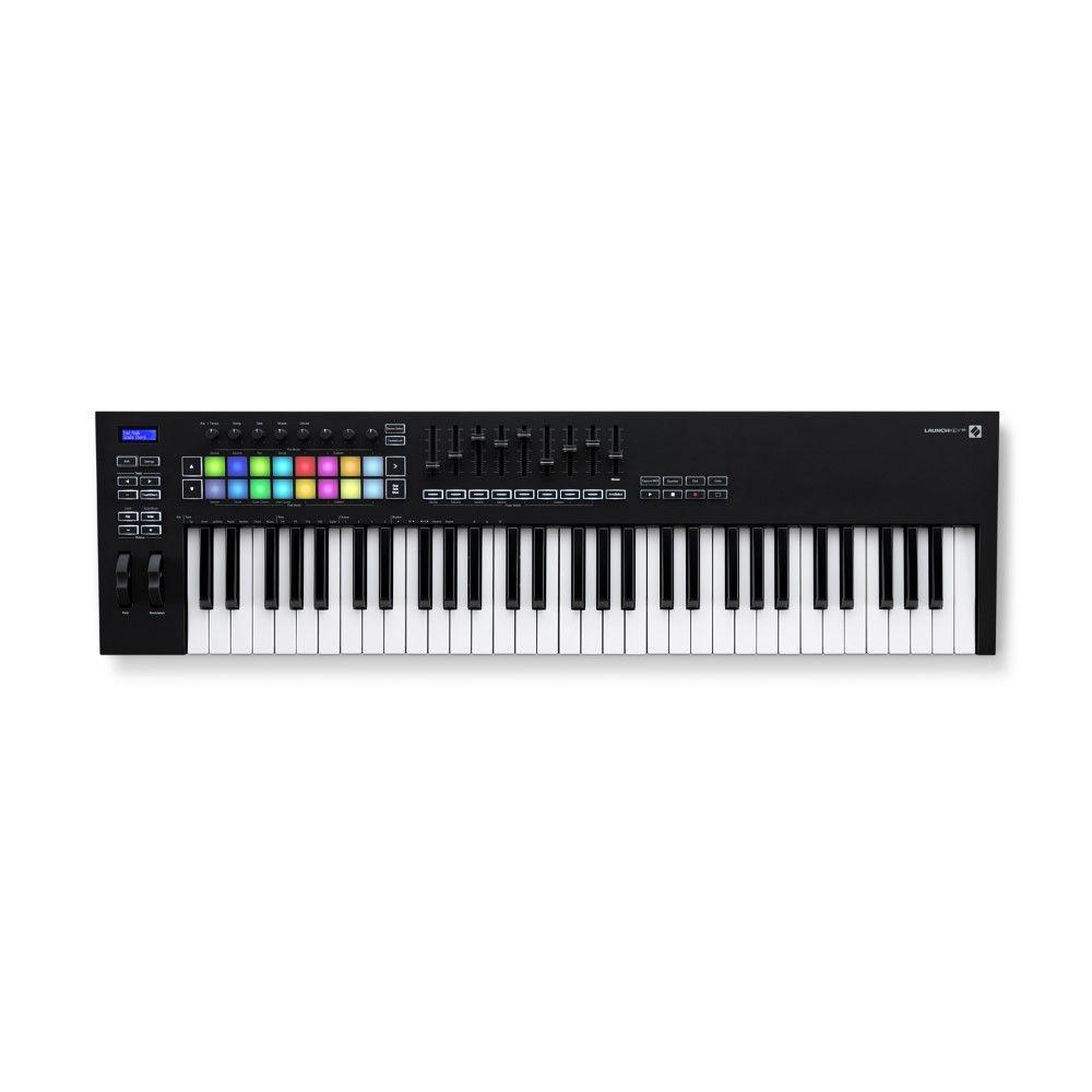 teclado controlador midi Novation