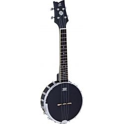 Ortega OUBJ100-SBK banjo ukelele