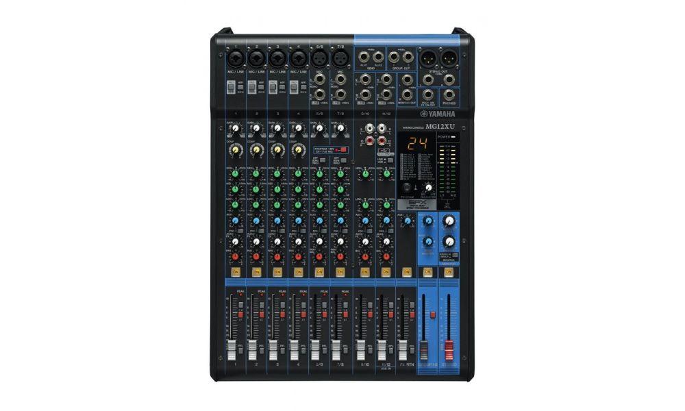 mesa de mezclas de directo Yamaha