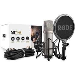 Compra RODE NT1-A bundle microfono de condensador al mejor precio