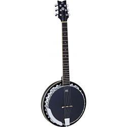 Ortega OBJ350/6-SBK banjo 6 cuerdas
