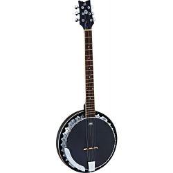 Ortega OBJE350/6-SBK banjo 6 cuerdas