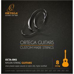 Ortega OCTA-8NS juego de cuerdas para guitarra clasica