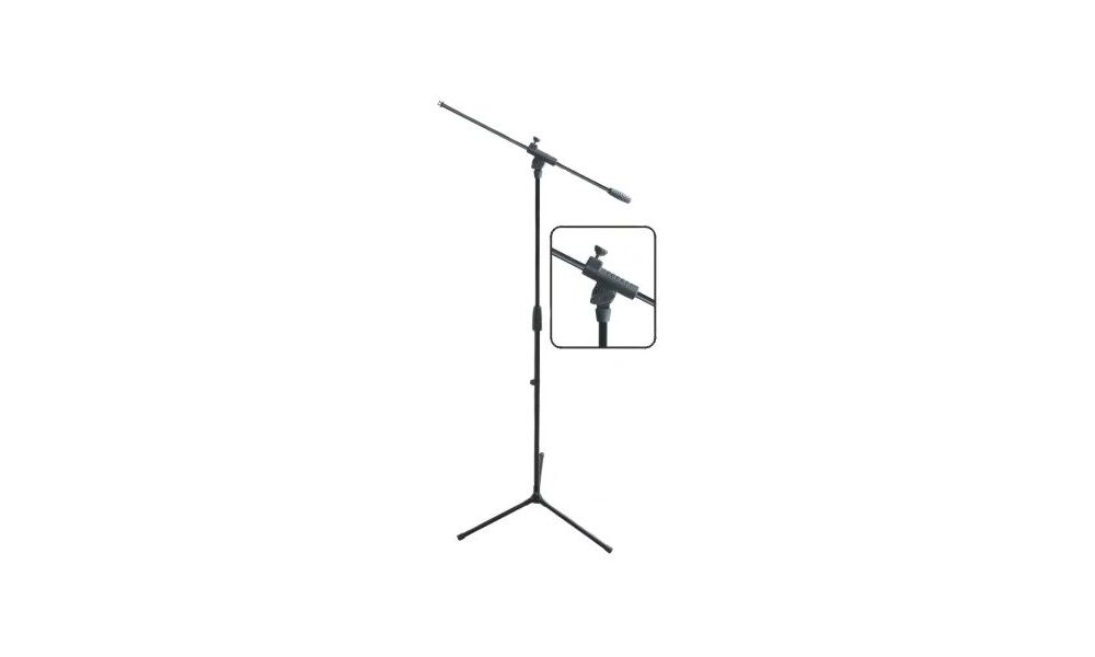 Compra EK Audio MS0801 pie de micro jirafa negro al mejor precio