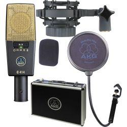 AKG C414 XLII Micrófono de condensador de gran diafragma