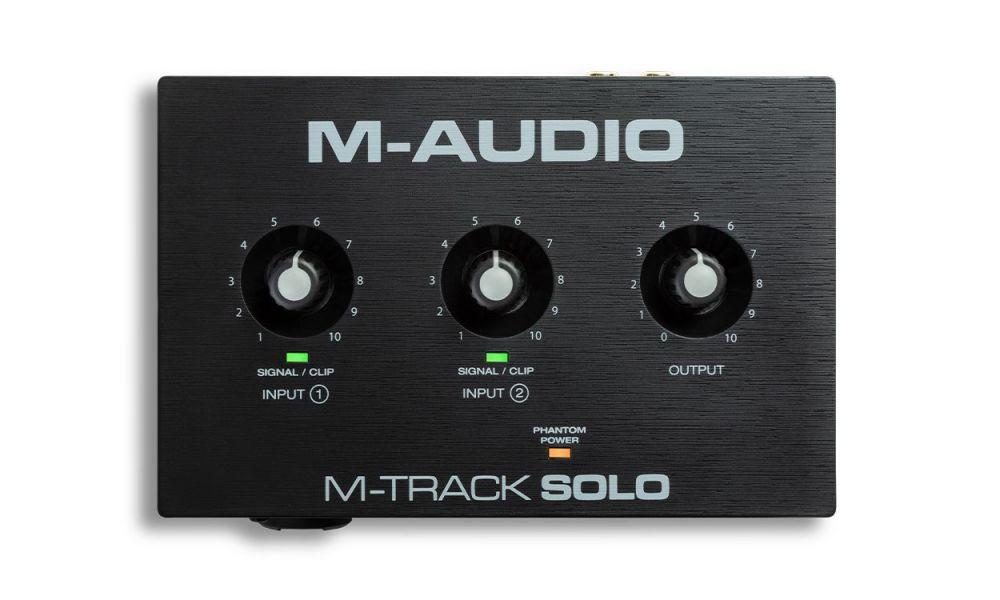Interfaz de audio M-Audio M-Track Solo
