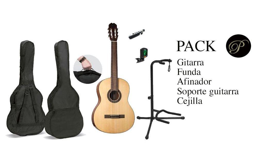Comprar Pack Guitarra Clasica Pepe Martin 37 Alvaro con funda y afinador