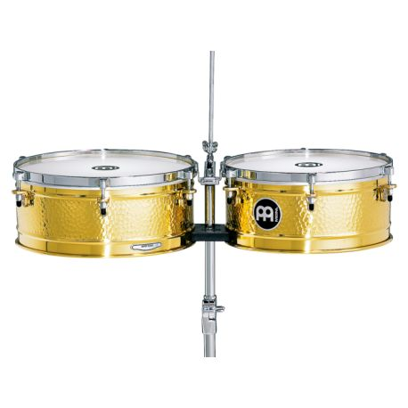 MEINL LC1BRASS timbales con soporte