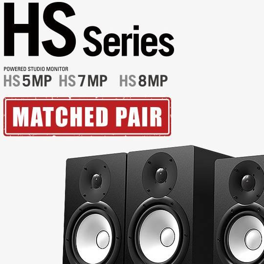 Nuevos monitores Yamaha HS Matche Pair