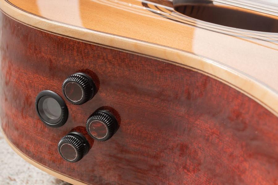 Previo E8 Fishman Flex M Blend para guitarra alhambra Iberia Ziricote