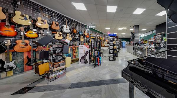 Tienda física - Showroom MUSISOL en Estepona Málaga España